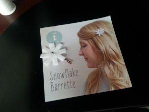 Calendar snowflake
